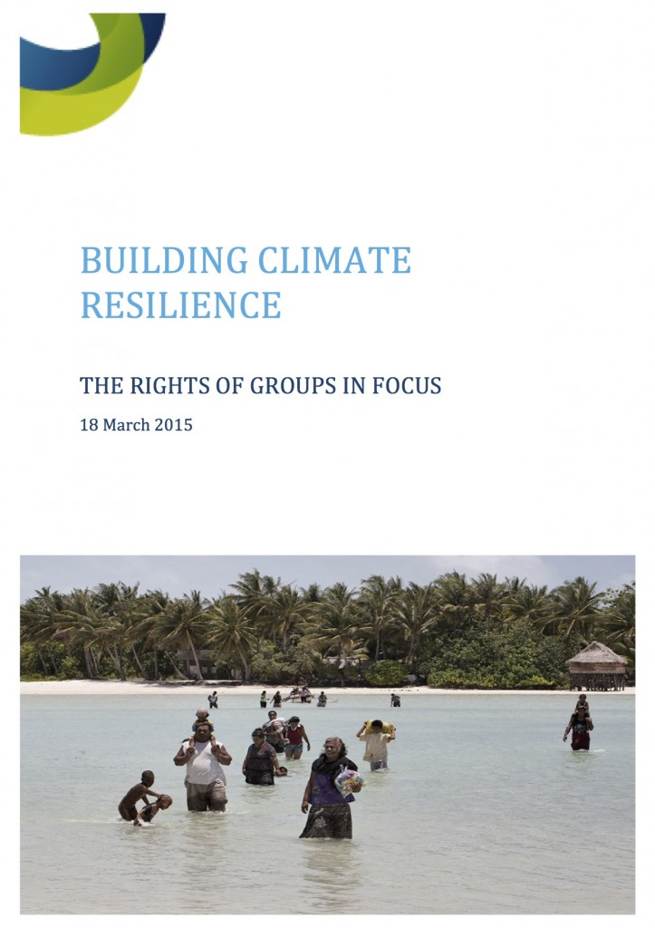 Building Climate Resilience Front Cover
